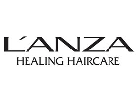 L'anza Logo on Genesishairstudioalbany.com